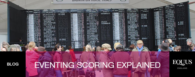 How does the scoring work in eventing