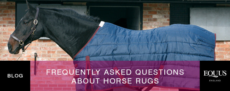 Frequently asked questions about horse rugs
