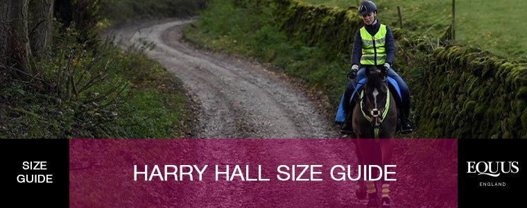 Harry Hall Size Guide