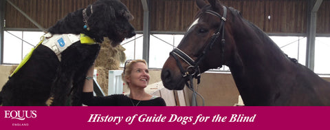 History of Guide Dogs for the Blind