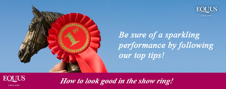 how to look good in the show ring