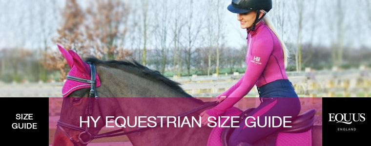 Hy Equestrian Size Guide