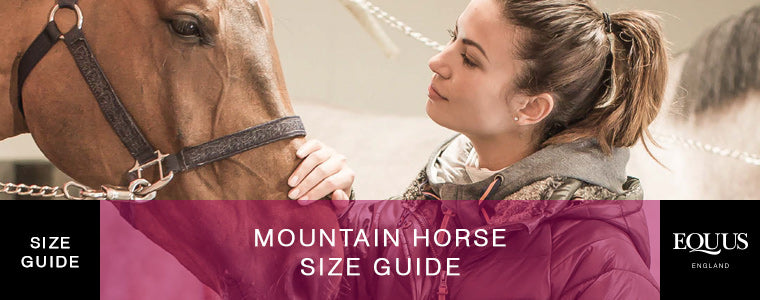 Mountain Horse Size Guide