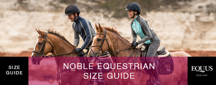 Noble Equestrian Size Guide