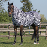 QHP Eczema Combo Fly Rug for horses with Sweet Itch