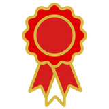 EQUUS VIP Rosette Rewards - Red Rosette