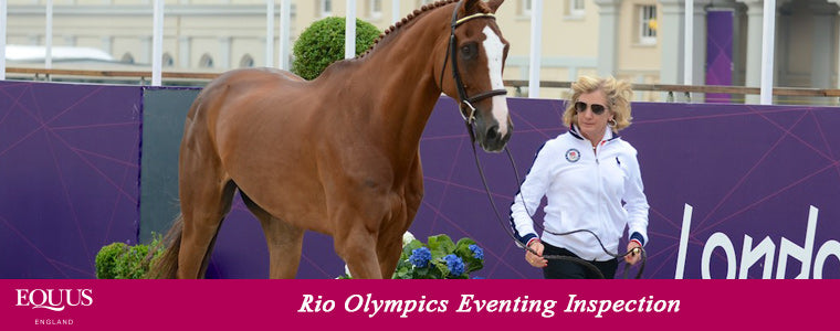 Rio Olympics Eventing Inspection