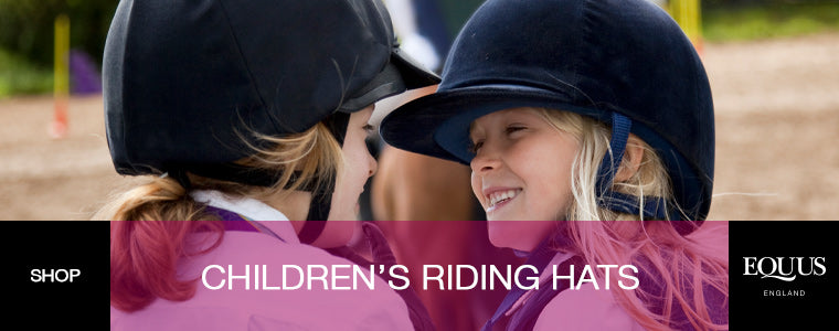 shop childrens riding hats
