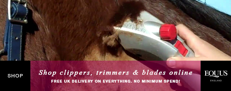 Shop horse clippers, trimmers and blades online