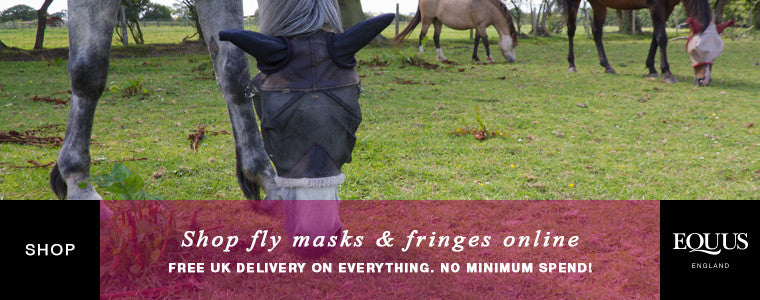 Shop fly masks and fringes online