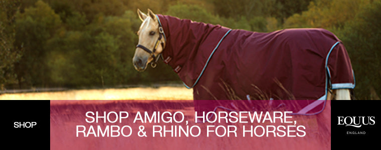 Shop Amigo, Horseware, Rambo and Rhino For Your Horse