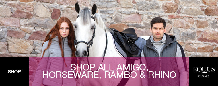 Shop All Amigo, Horseware, Rambo and Rhino