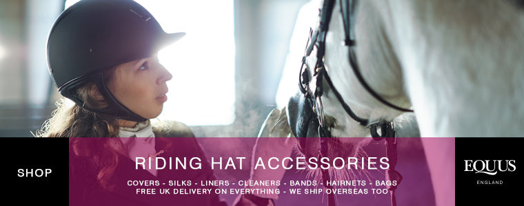 Riding hat accessories