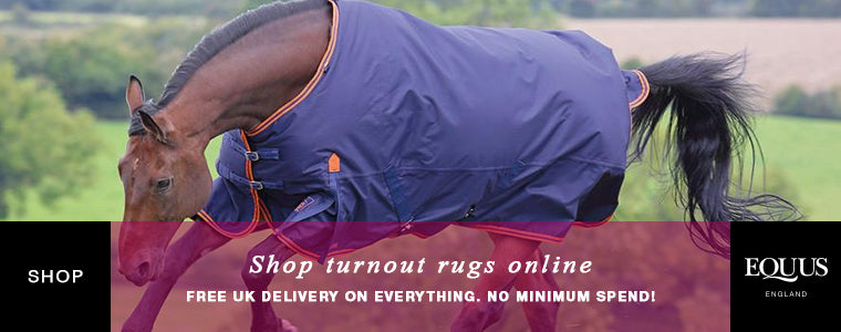 Shop horse turnout rugs online