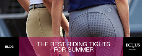 The Best Riding Tights For Summer