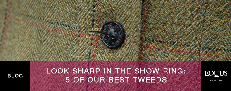 Look Sharp In The Show Ring: 5 Of Our Best Tweeds