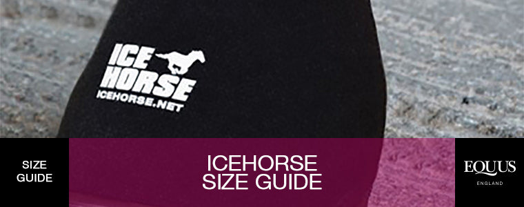 IceHorse Horse Boots Size Guide