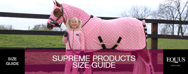 Supreme Products Size Guide