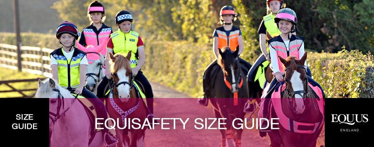 Equisafety Size Guide