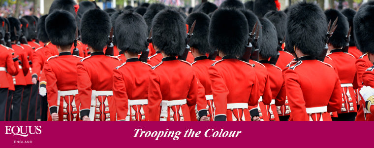 article about the trooping the colour ceremony