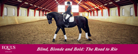 The Beginning of the Journey.. Blind, Blonde and Bold...