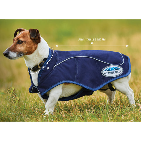 Exercise Dog Coats Size Guide