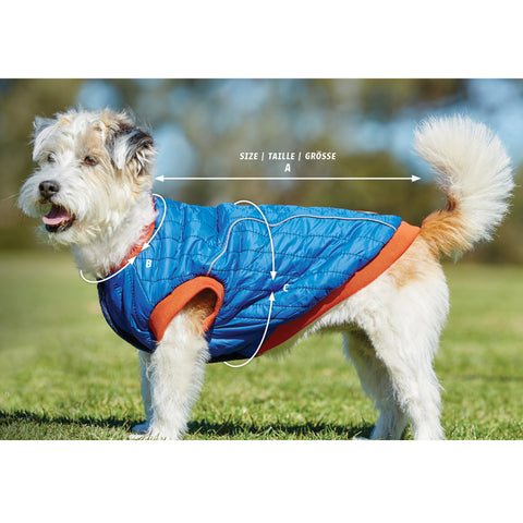 Weatherbeeta ComFiTec Fleece Dog Jumper Size Guide Image