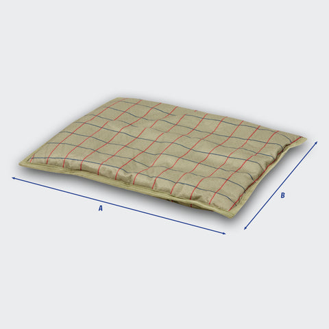 Weatherbeeta Patterned Pillow Dog Bed Size Guide Image
