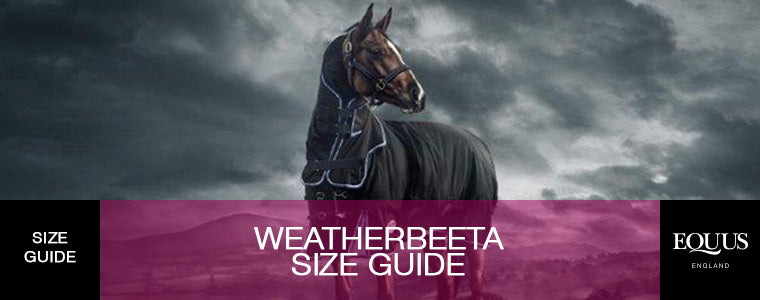Weatherbeeta Size Guide