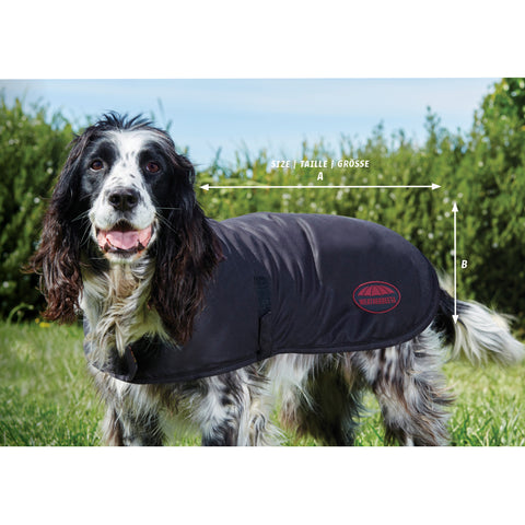 Weatherbeeta Waxed Dog Coat Size Guide