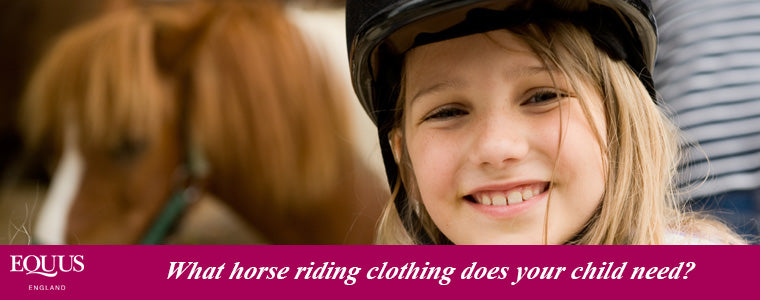 children's horse riding equipment