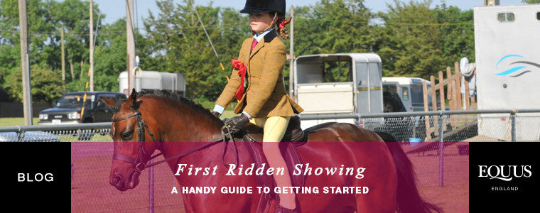 What is first ridden showing