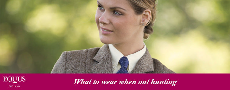 what to wear when out hunting