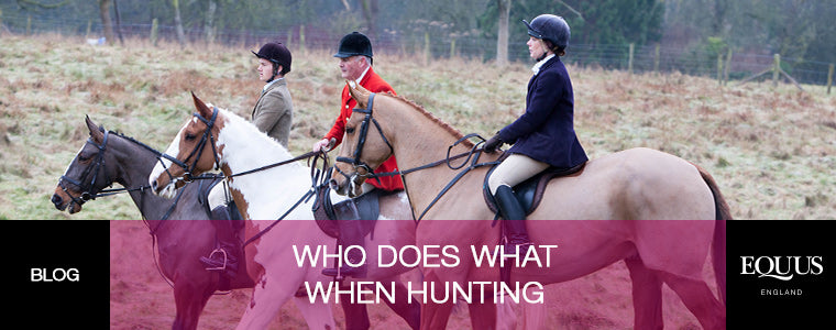 Who Does What When Hunting?