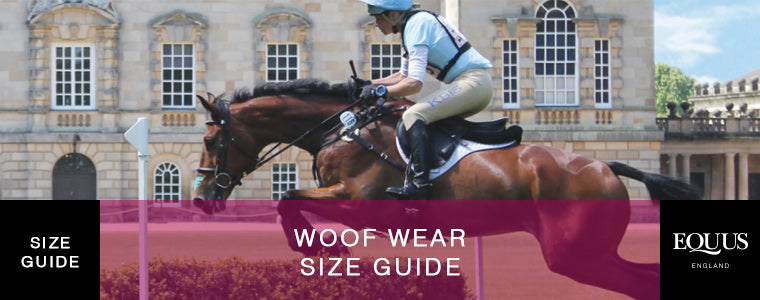 Woof Wear Size Guide Header