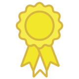 EQUUS VP Rosette Rewards - Yellow Rosette