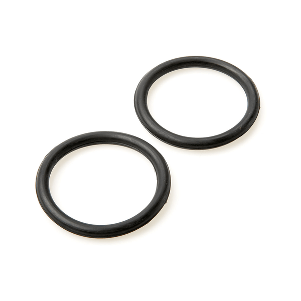 Lorina Rubber Rings for Safety Irons in Black 0964