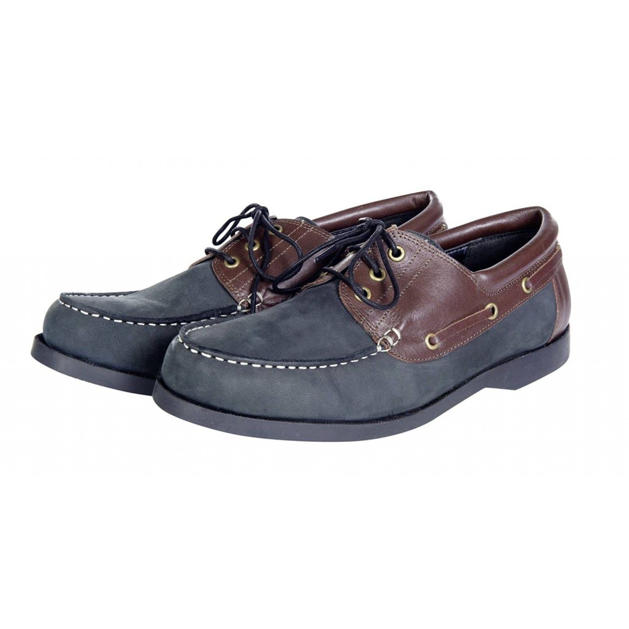 10042 HKM Marbella Boat Shoes Front View