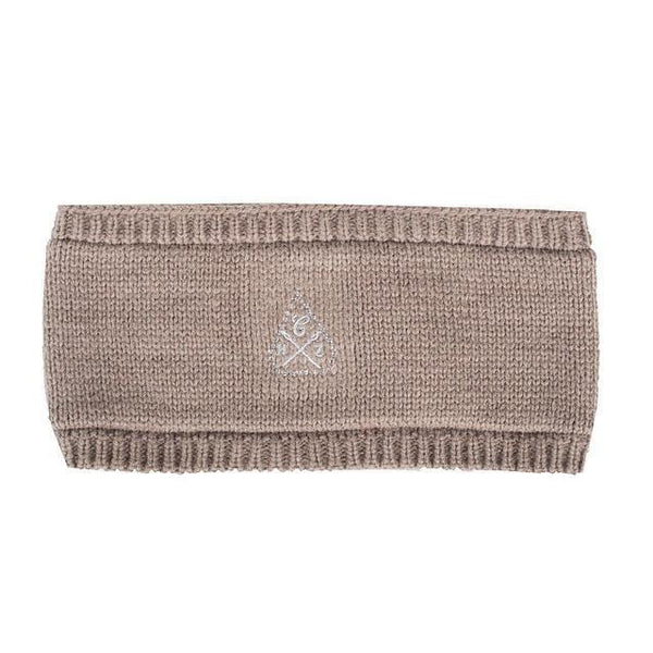 Horze Knitted Headband - One Size / Taupe | EQUUS