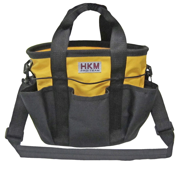 HKM Grooming Bag Colour in Yellow with Black