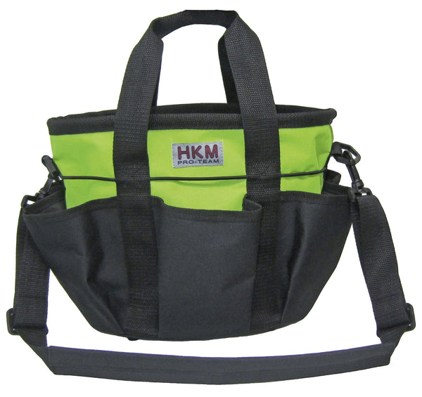HKM Grooming Bag Colour in Apple Green with Black