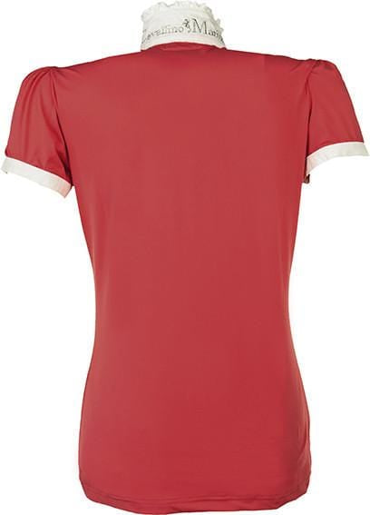 HKM Cavallino Marino Verona Ladies Short Sleeve Competition Shirt - EQUUS