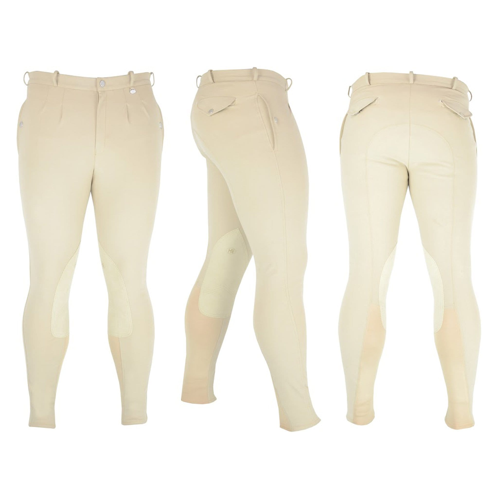 HyPerformance Men's Softshell Winter Alos Knee Patch Breeches.