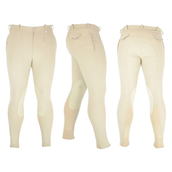 HyPerformance Softshell Winter Men's Breeches Beige