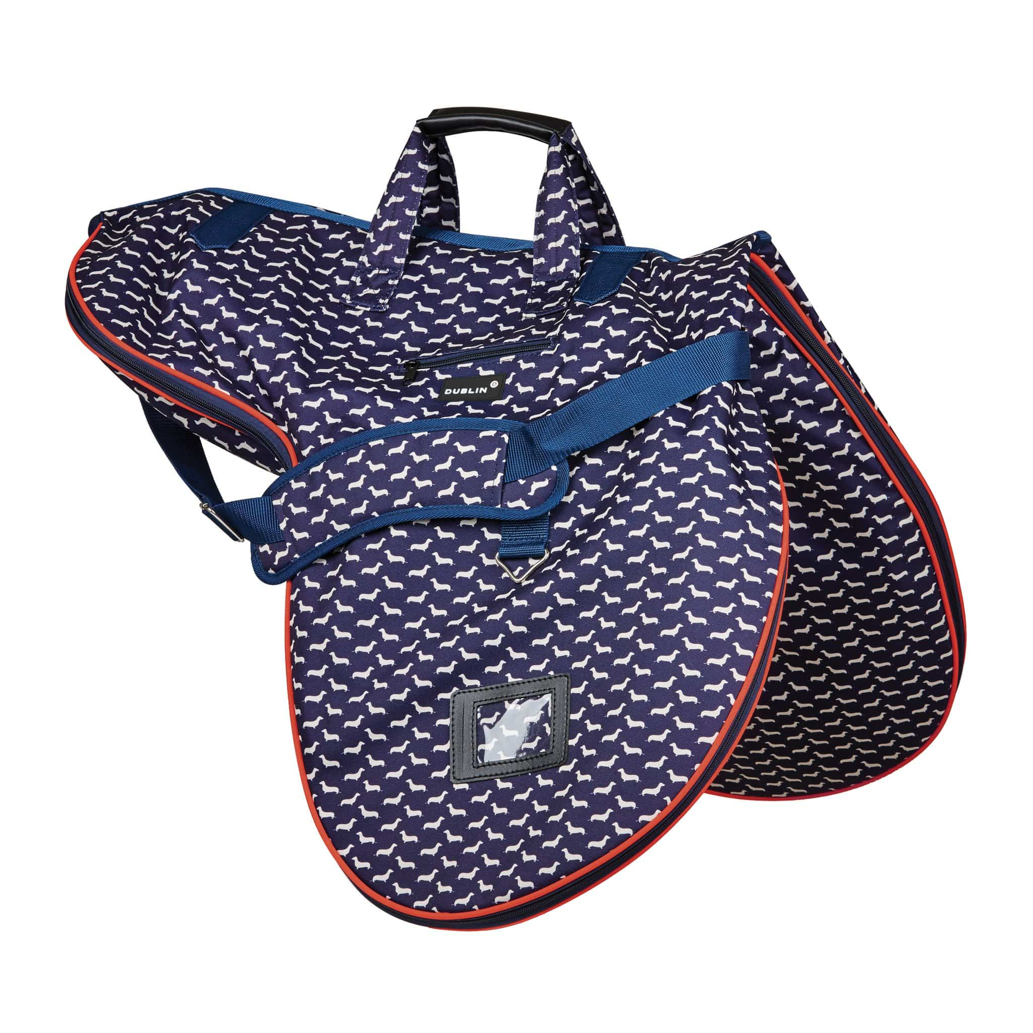 Dublin Imperial Saddle Bag 1000643001 Dog Print