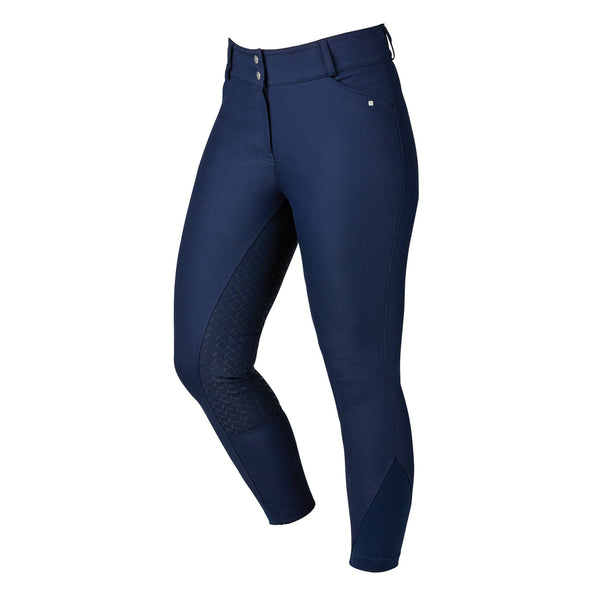 Dublin Pro Form Gel Full Seat Breeches Navy Front