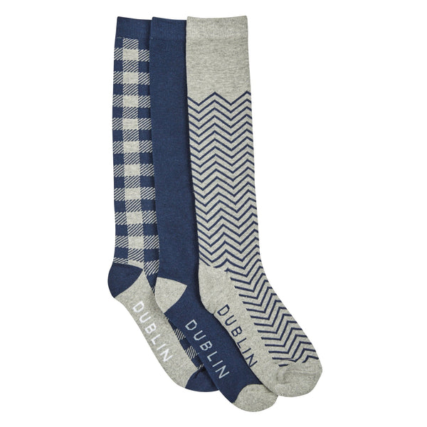 Dublin Gingham Socks Pack 810642