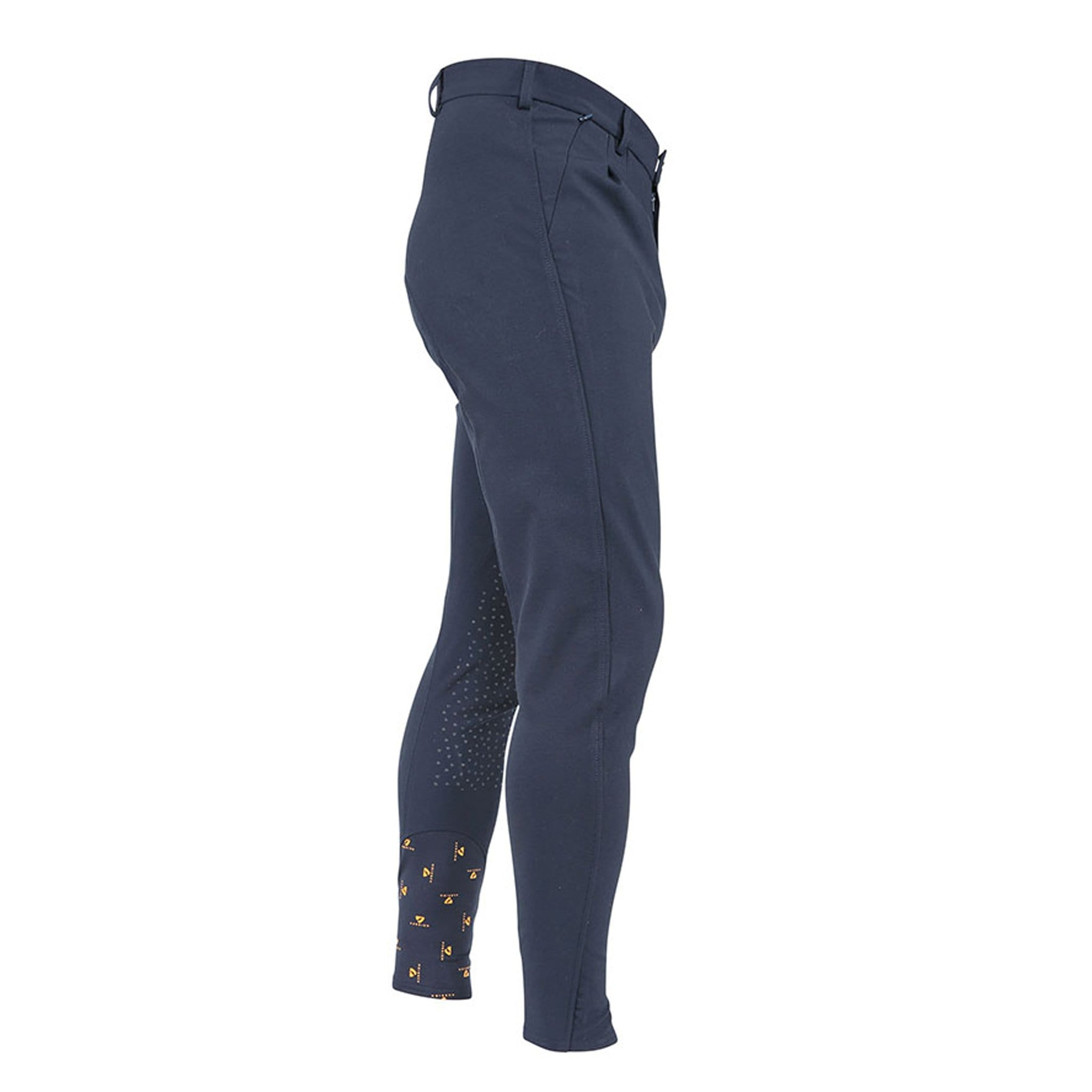 Shires Men's Aubrion Walton Silicone Knee Patch Breeches Navy 8143.