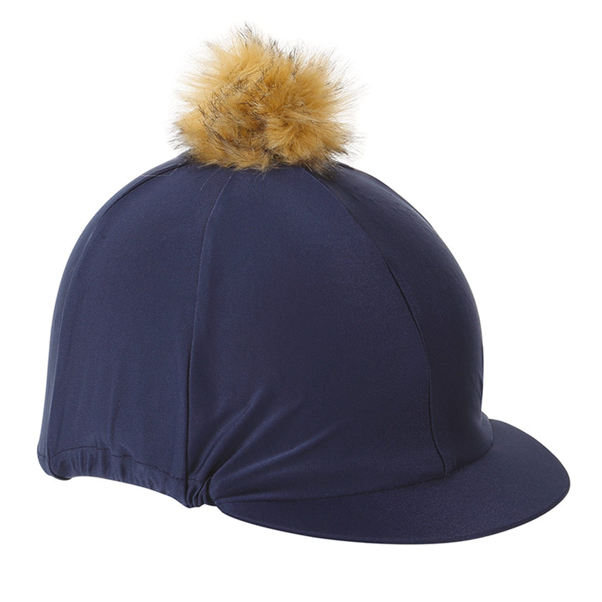 Shires Pom Pom Hat Cover Navy