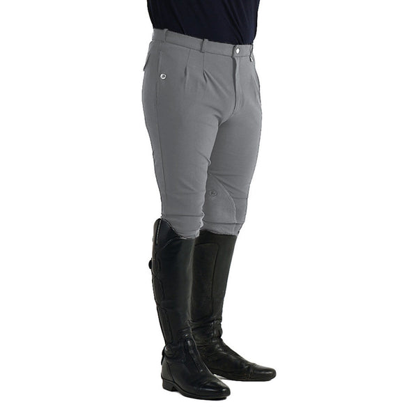 HyPerformance Jakata Men's Breeches Steel Grey Front